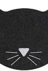 Ore Black Cat Face Placemat