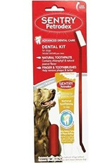 Sentry Petrodex Dental Kit Peanut Flavor