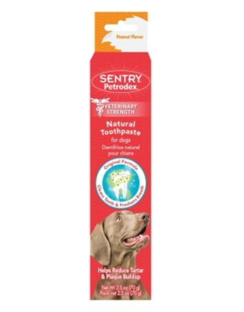 Sentry Petrodex Natural Toothpaste Peanut Flavor, 2.5 oz.