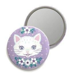 Smarty Pants Paper Cat Pocket Mirror