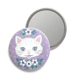 Smarty Pants Paper Cat Pocket Mirror