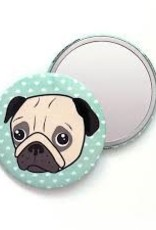 Smarty Pants Paper Pug Pocket Mirror