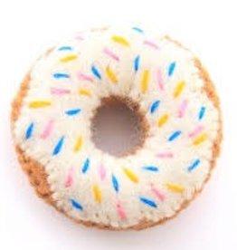 The Foggy Dog Vanilla Donut Cat Toy