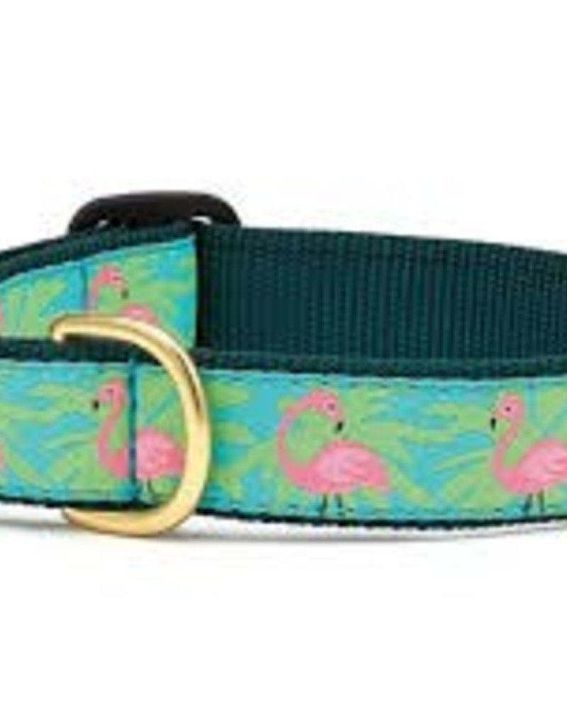 Up Country Flamingo Dog Collar