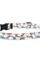 Yellow Dog Design Bacon & Eggs Dog Collar