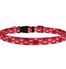 Yellow Dog Design iDesign Blue Crabs Cat Collar