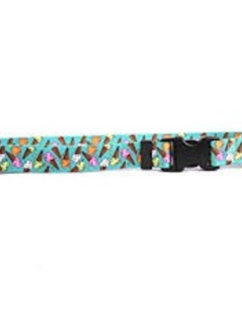 Yellow Dog Design Ice Cream Cones Dog Collar