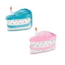 Zippy Paws Birthday Cake Dog Toy