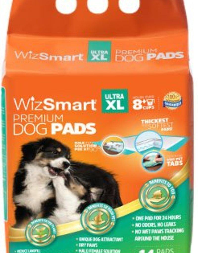 "WizSmart Premium Dog Pads 23.5""x31.5"" 14 pack"