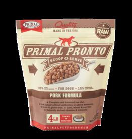 Primal Pronto Raw Frozen Canine Pork Formula, 4 lb.