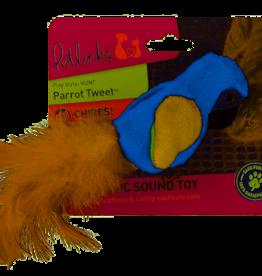 Petlinks Parrot Tweet Cat Toy