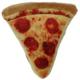 Lulubelle's Power Plush PUP-ERONI Pizza Toy