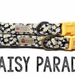 Very Vintage Designs Daisy Parade Cat Collar with Breakaway Buckle
