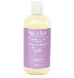 Pure + Good Purifying Shampoo: Lavender + Tea Tree, 18 oz.