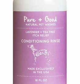 Pure + Good Purifying Conditioning Rinse: Lavender + Tea Tree, 18 oz.