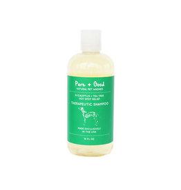 Pure + Good Therapeutic Shampoo: Eucalyptus + Tea Tree, 18 oz.