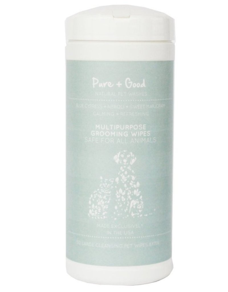 Pure + Good Calming Grooming Wipes, 50 count