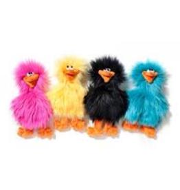 West Paw Spring Chicken Dog Toy
