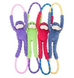 Zippy Paws Monkey RopeTugz Dog Toy