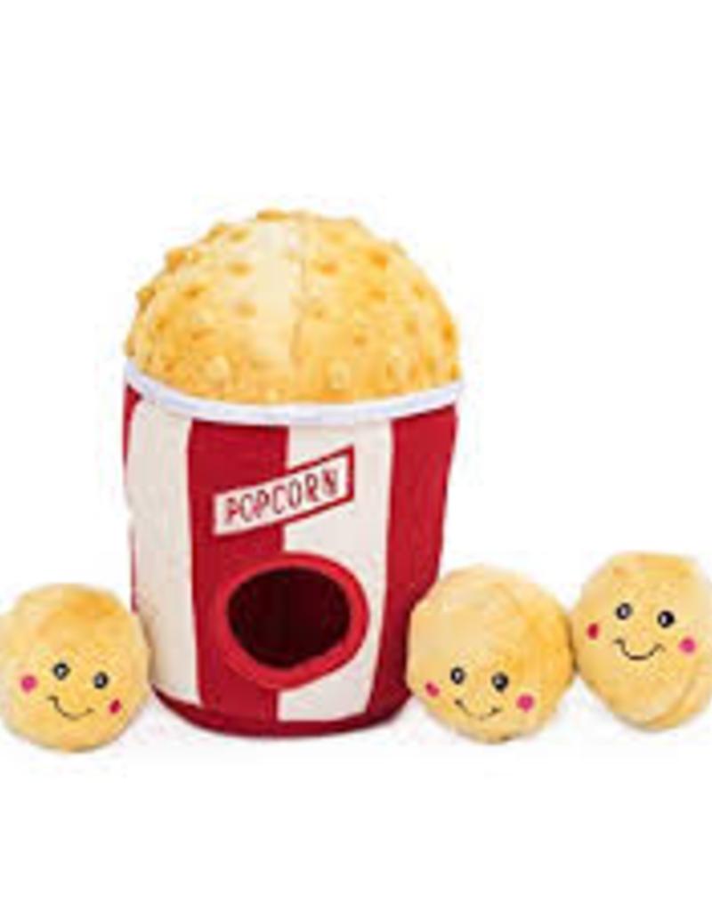 Zippy Paws Popcorn Bucket Burrow Toy
