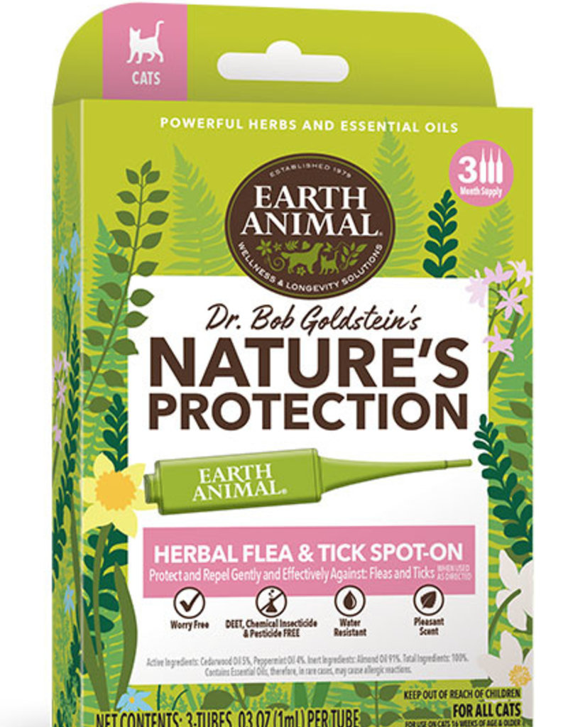 Earth Animal Flea & Tick Spot-On for Cats