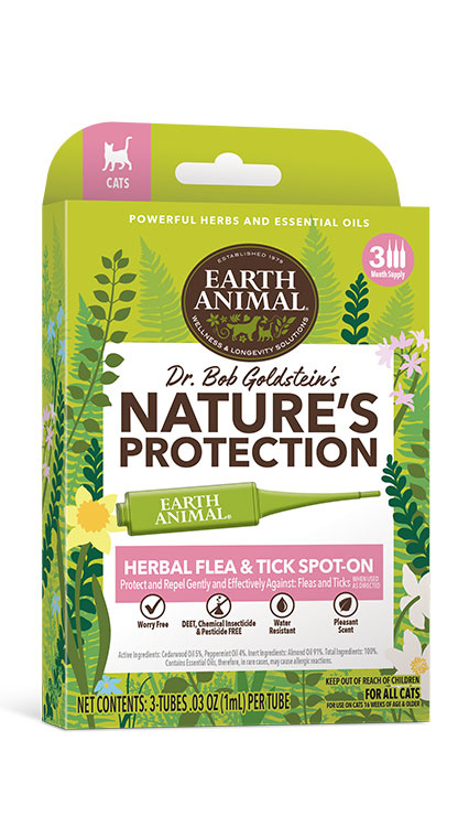 Earth Animal Flea & Tick Spot-On for Cats