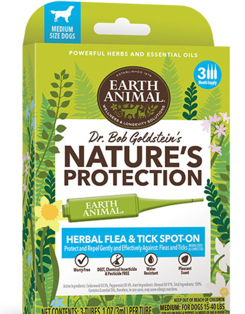 Earth Animal Flea & Tick Spot-On for Dogs