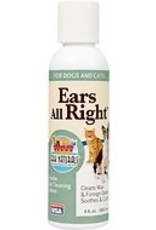 Ark Naturals Ears All Right Gentle Ear Cleaning Lotion, 4 oz.