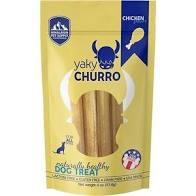 Himalayan Dog Chew Yaky Churro Chicken Dog Treats, 4 pack