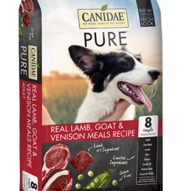 Canidae Grain-Free PURE Real Lamb, Goat & Venison Meal Recipe Dry Dog Food