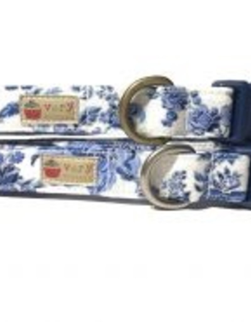 Very Vintage Designs Royals Organic Cotton Dog Collar