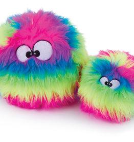 GoDog Furballz Rainbow Chew Guard Dog Toy