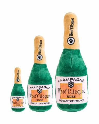 Haute Diggity Dog Champagne Plush Toy
