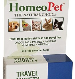 HomeoPet Travel Anxiety Relief