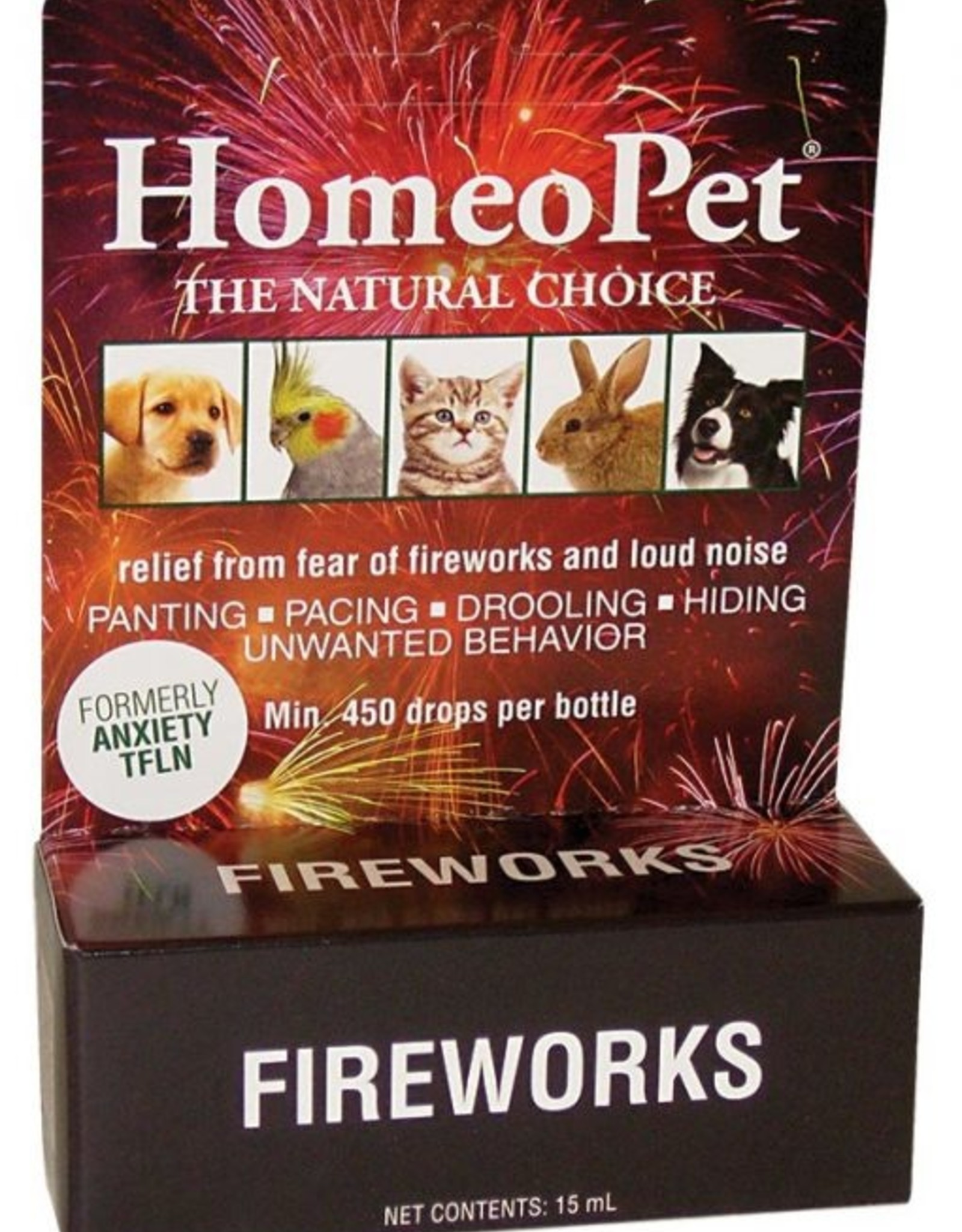 HomeoPet Fireworks Anxiety Relief