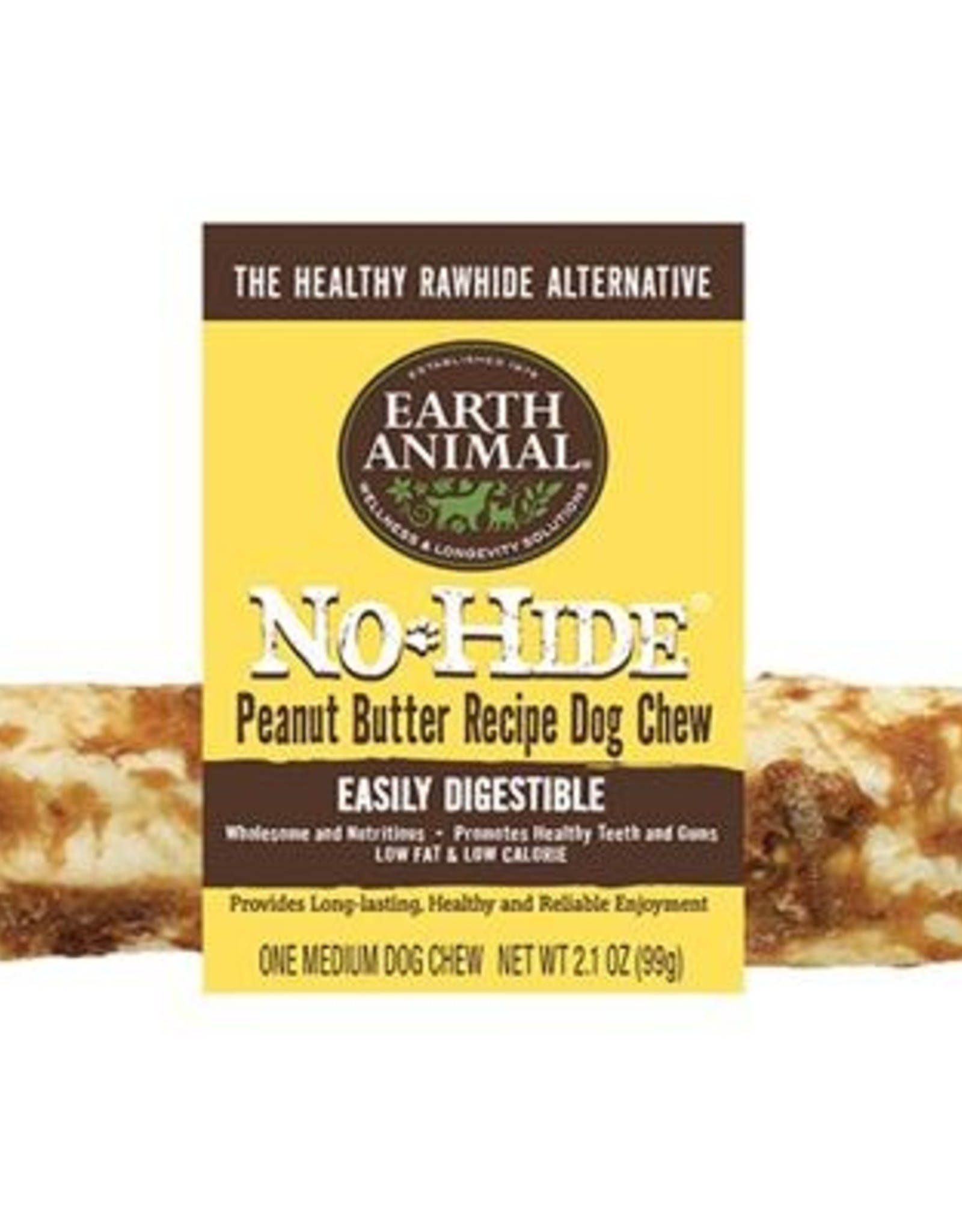Earth Animal Individual No-Hide Peanut Butter Dog Chews