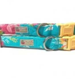 Very Vintage Designs Tropical Gardens Dog Collar