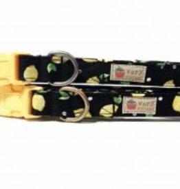Very Vintage Designs Lemonade Dog Collar
