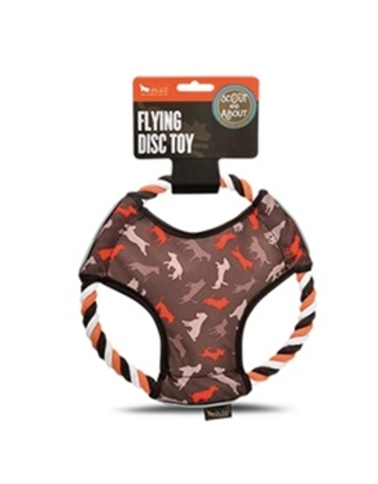 P.L.A.Y. Scout & About Flying Disc Dog Toy