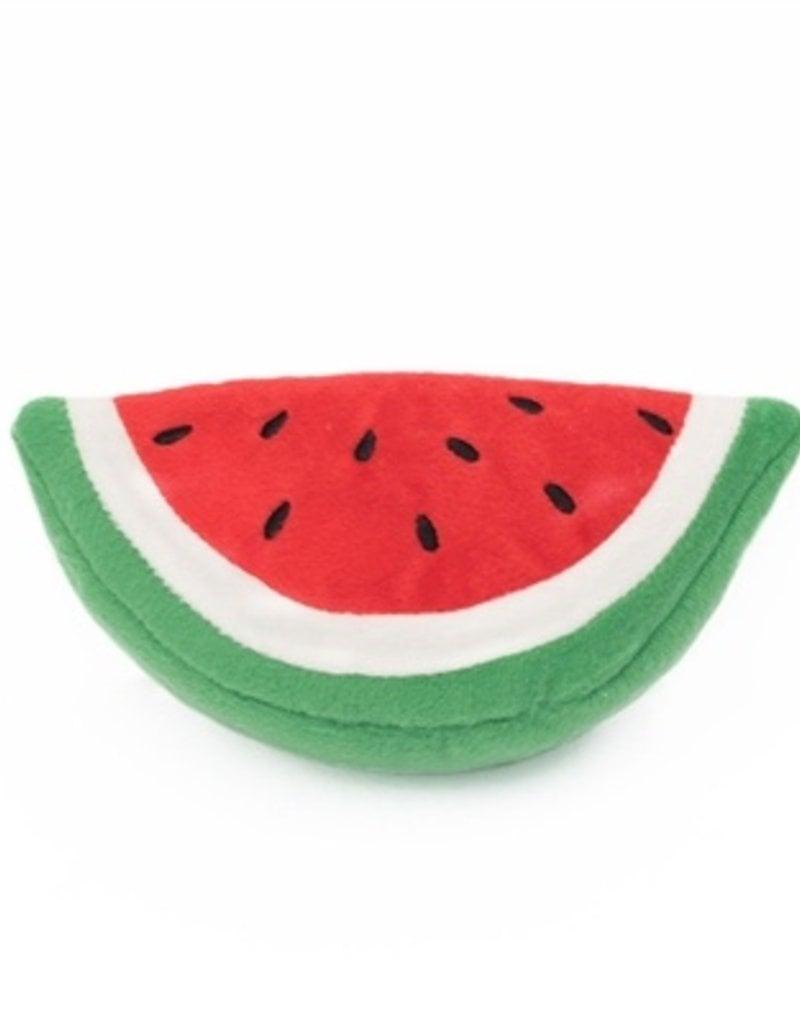 Zippy Paws Watermelon Plush Dog Toy