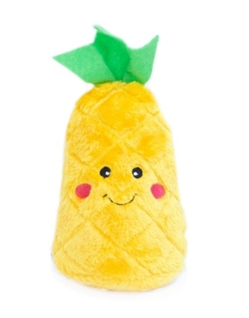 Zippy Paws Pineapple Plush Dog Toy