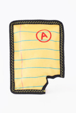 Zippy Paws Yellow Notepad Dog Toy