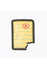 Zippy Paws Yellow Notepad Dog Toy