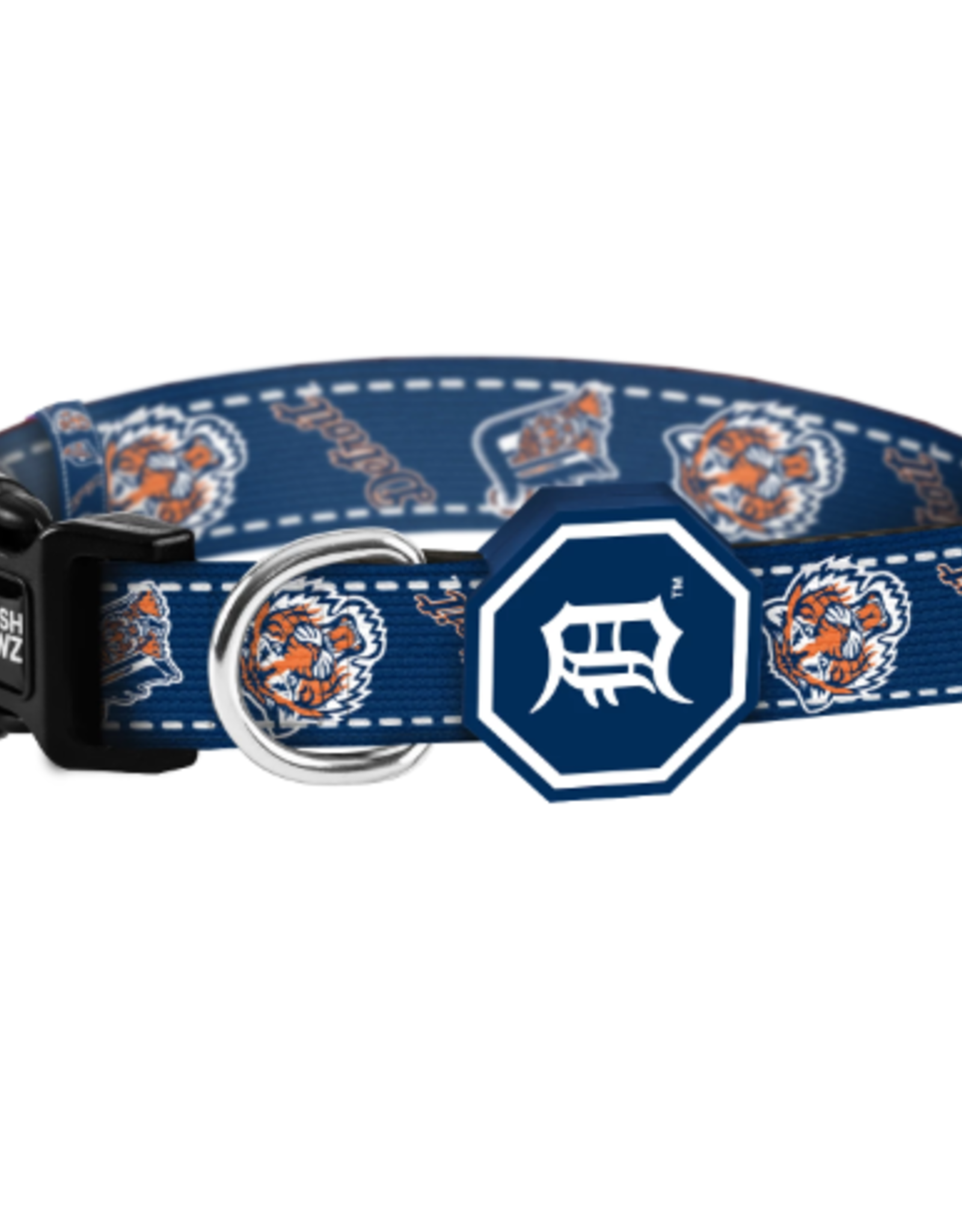 Fresh Pawz Detroit Tigers x Fresh Pawz Collar