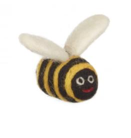 The Foggy Dog Bumblebee Catnip Toy
