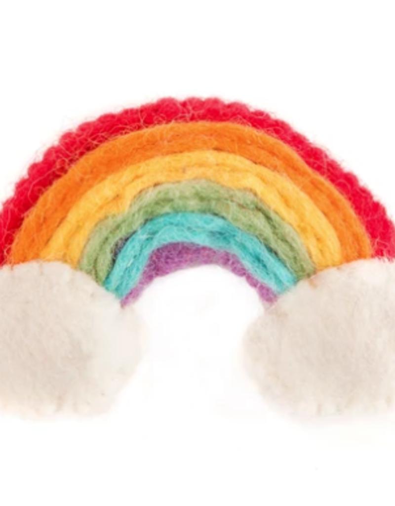 The Foggy Dog Rainbow Catnip Toy