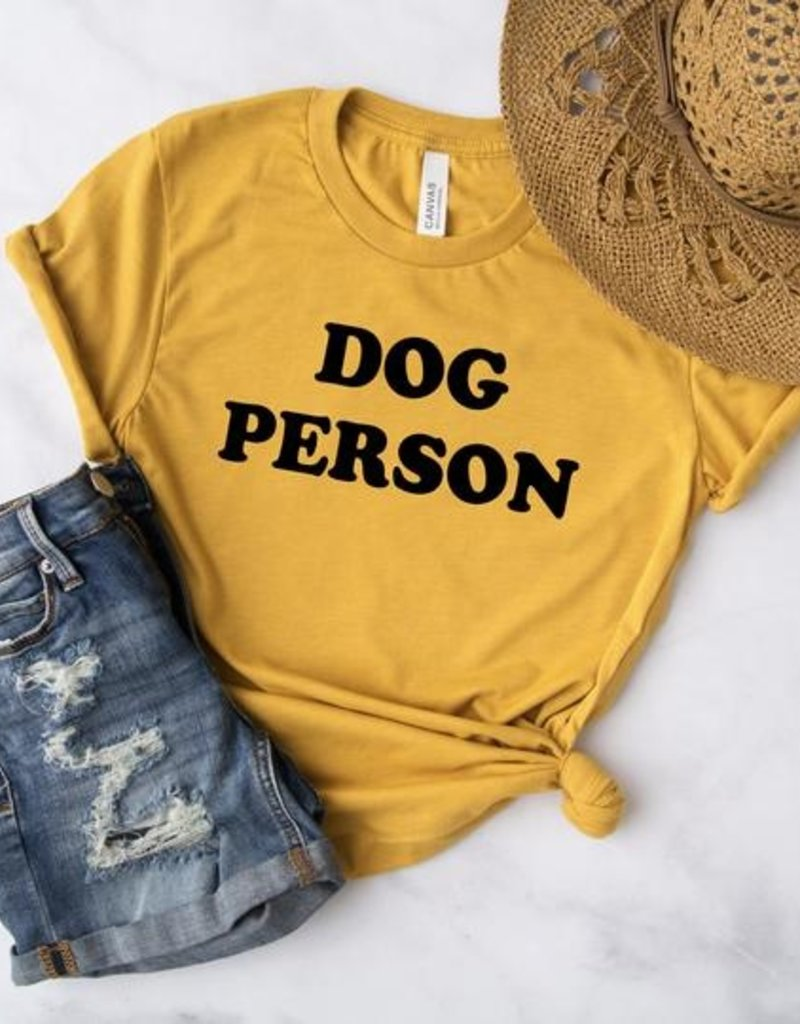 Bubs and Betty Dog Person T-Shirt