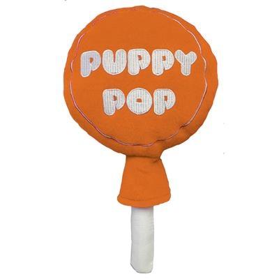 Lulubelle's Power Plush Orange Puppy Pop