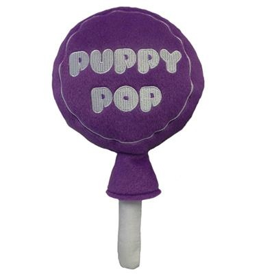 Lulubelle's Power Plush Grape Puppy Pop