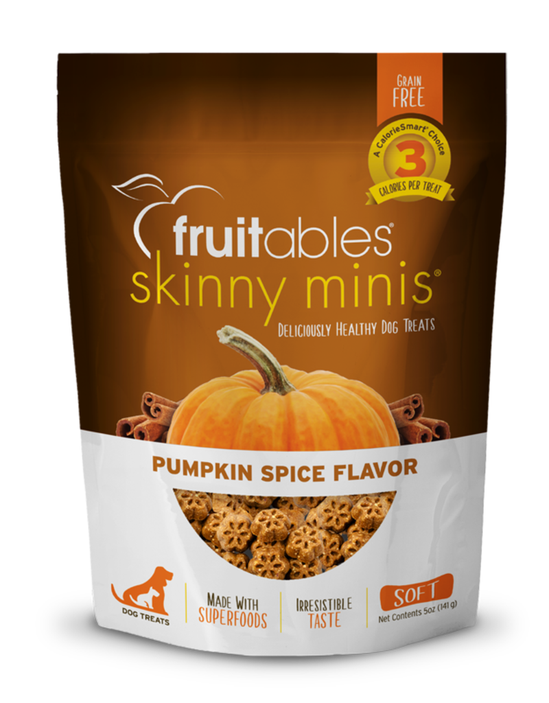 Fruitables Pumpkin Spice Chewy Dog Treats, 5 oz.